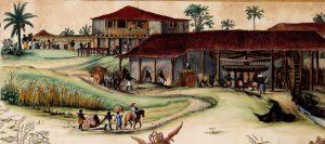 Engenho em Itamaracá, Pernambuco, séc. XVII, Frans Post