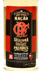 cachaça Seleta Flamengo