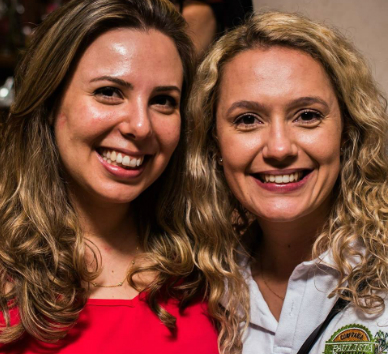 Aline Bortoletto e Ana Carolina Corrêa