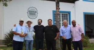 Mestre Deriva, Celso Lemos, Dirley Fernandes, Ar,mando del Bianco, Roberto Brasil e Daniel Júlio (Foto: Beto Vieira)