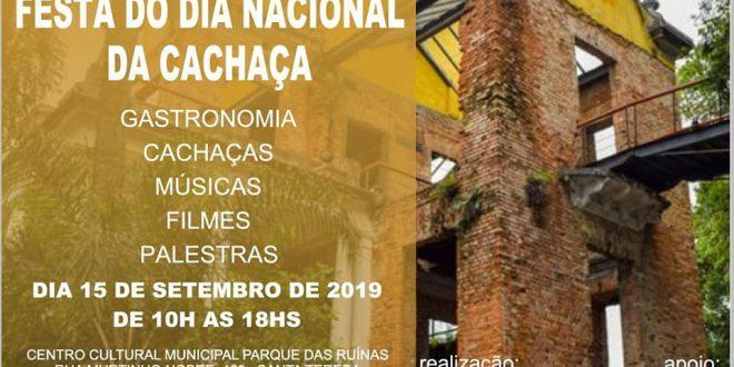 Cartaz do Dia Nacional da cachaça